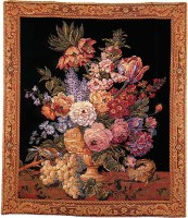 Spray of Flowers tapestry - French tapestries