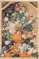 Floral Still Life tapestry - woven in France