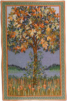 A Tree of Life tapestry - Belgian wall tapestry