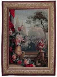 Garden Bouquet tapestry - French wall tapestry