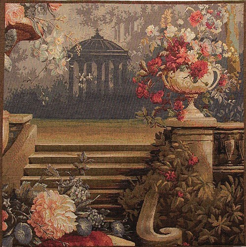 Grand Staircase tapestry