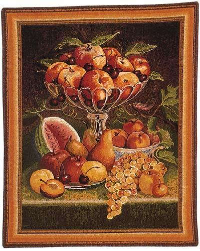 Fruit on a Table - discontinued tapestry on sale