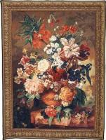 Terracotta Vase tapestry - Belgian wall tapestry