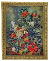 Bouquet Dore tapestry - Golden Bouquet wall-hanging