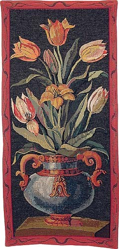Tulips wall tapestry - Roses wall-hanging