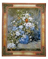 Spring Bouquet tapestry - Renoir wall tapestries