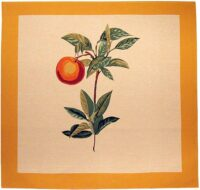 Orange square tapestry - Redoute wall tapestries