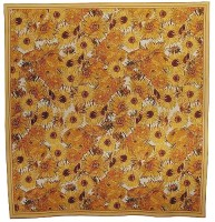 Sunflowers Collage tablecloth - French tapestry wallhanging