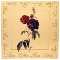 Rosa Gallica tapestry tablecloth - botanical wall tapestries