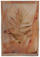 Oriental Bamboo tapestry - French tapestry wall hanging