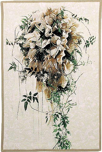 Brides Bouquet tapestry - sale wall tapestries