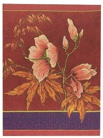 Althea Portiere wallhanging tapestry - floral design