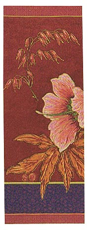Althea Portiere - left tapestry wall hanging