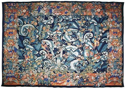 Flanders Verdure - tapestry woven in France