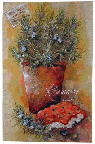 Rosemary tapestry - contemporary wall hanging