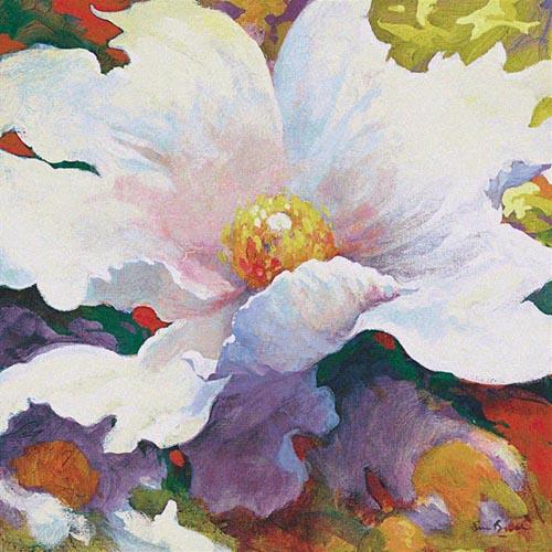 Because of You tapestry - Simon Bull art