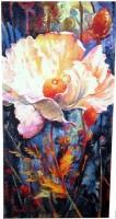 In Your Light, blue tapestry - Simon Bull art