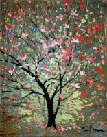 Hopeful Tree tapestry by Simon Bull