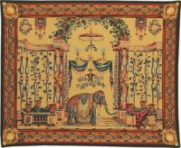 Monnoyer's Elephant tapestry - French tapestry wallhanging