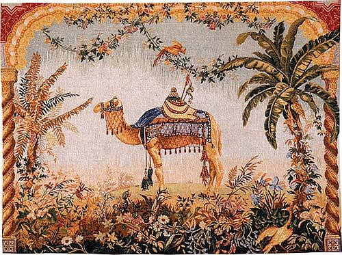 Camel tapestry - French wall-hanging tapestries