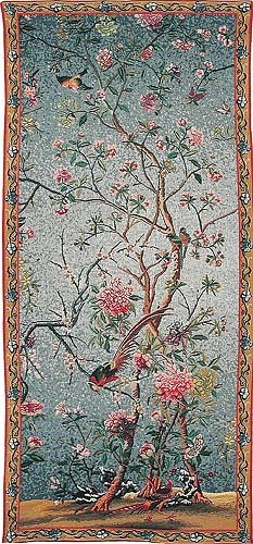Spring Blossom - Belgian wall hanging tapestry