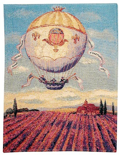 Balloon Banners tapestry - French tapestry on sale
