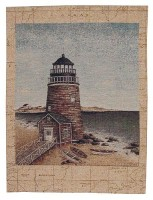 Old Lighthouse tapestry - French wall-hanging tapestries