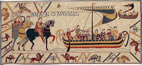 The Embarkment tapestry