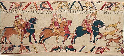 William the Conqueror tapestry - Bayeux Tapestry
