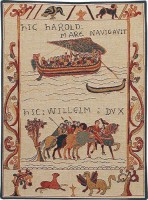 Harold and William tapestry - Bayeux Tapestry