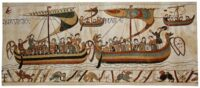 Navigio from The Bayeux Tapestry - woven in Belgium