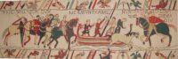Bayeux Tapestry Duke William - early medieval embroidery