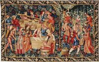 The Vintage tapestry - 15th century medieval