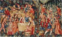 The Vintage wall tapestry - 15th century medieval