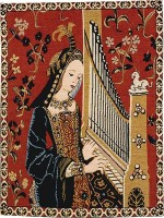 The Hearing tapestry - Lady and the Unicorn tapestries
