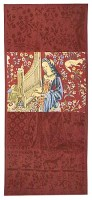 Hearing wall tapestry - Lady with the Unicorn tapestries