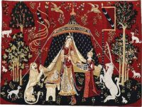 Small A Mon Seul Desir tapestry