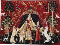 Small A Mon Seul Desir tapestry