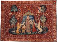 A Mon Seul Desir tapestry - Lady with the Unicorn tapestries