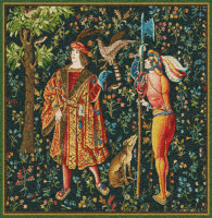 The Falconer tapestry - medieval French tapestries