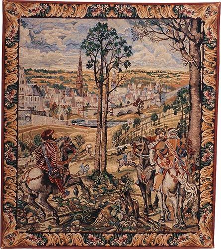 Charles V and Medieval Brussels - Belgian tapestry