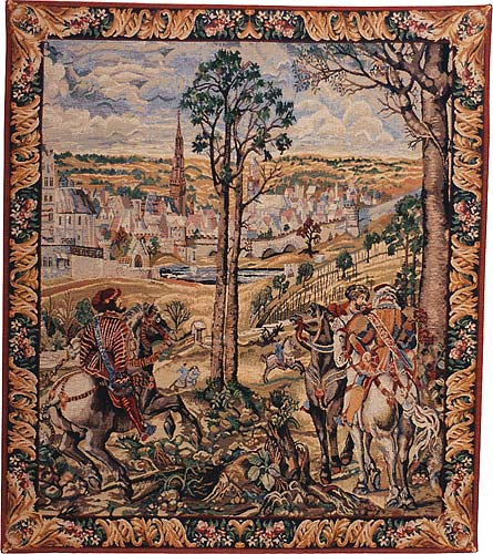 Charles V and Medieval Brussels - Belgian tapestry