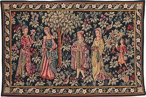 The Medieval Garden - French wall tapestry