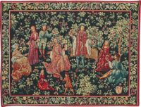 The Secret Garden tapestry - medieval wall hanging