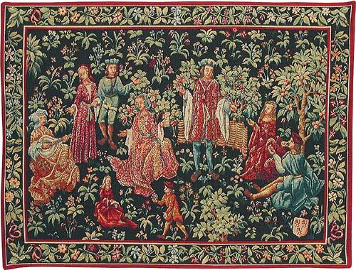 The Secret Garden Tapestry