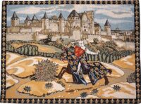 The Knight tapestry - French tapestry wall-hanging