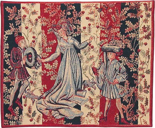 Dance of the Roses - Baillee des Roses tapestry
