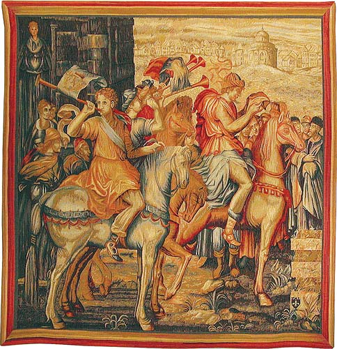 The Herald tapestry - Artemisia tapestries
