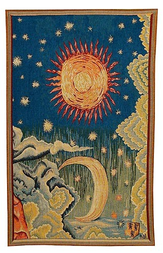 Apocalypse Tapestry Summer - medieval wall hangings