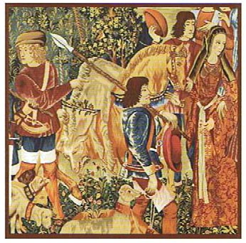 Death of the Unicorn tapestry- medieval tapestries